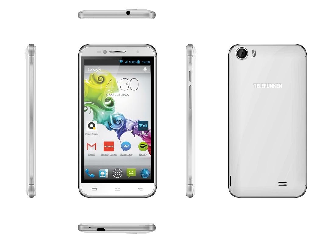 Tabletowo.pl TELEFUNKEN Tango - bardzo tani smartfon z 5-calowym wyświetlaczem i aparatami 8 Mpix/5 Mpix Android Smartfony