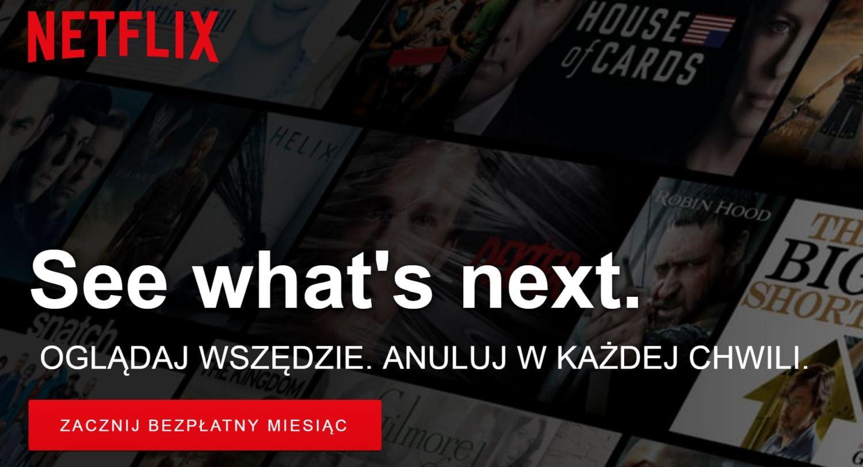 Tabletowo.pl Netflix debiutuje po polsku Ciekawostki Oprogramowanie
