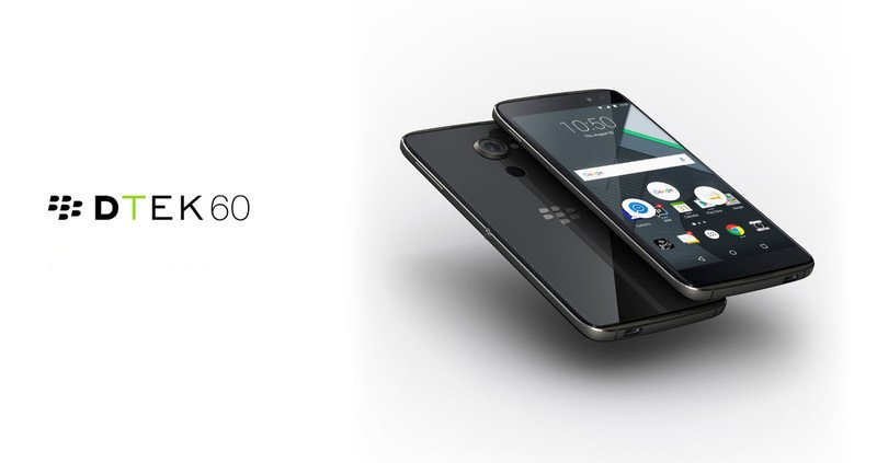BlackBerry DTEK60 zadebiutował po cichu 16