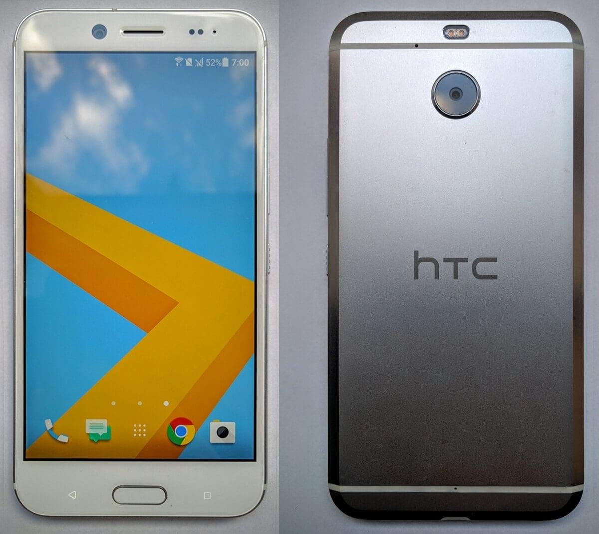 Tabletowo.pl Oto, jak wygląda HTC Bolt - nowy smartfon z Tajwanu bez jacka 3,5 mm HTC Plotki / Przecieki Smartfony