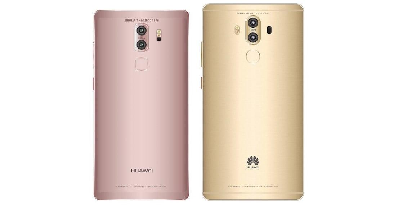 Huawei Mate 9 na nowych renderach. Obie wersje będą miały też nieco inny tył 27
