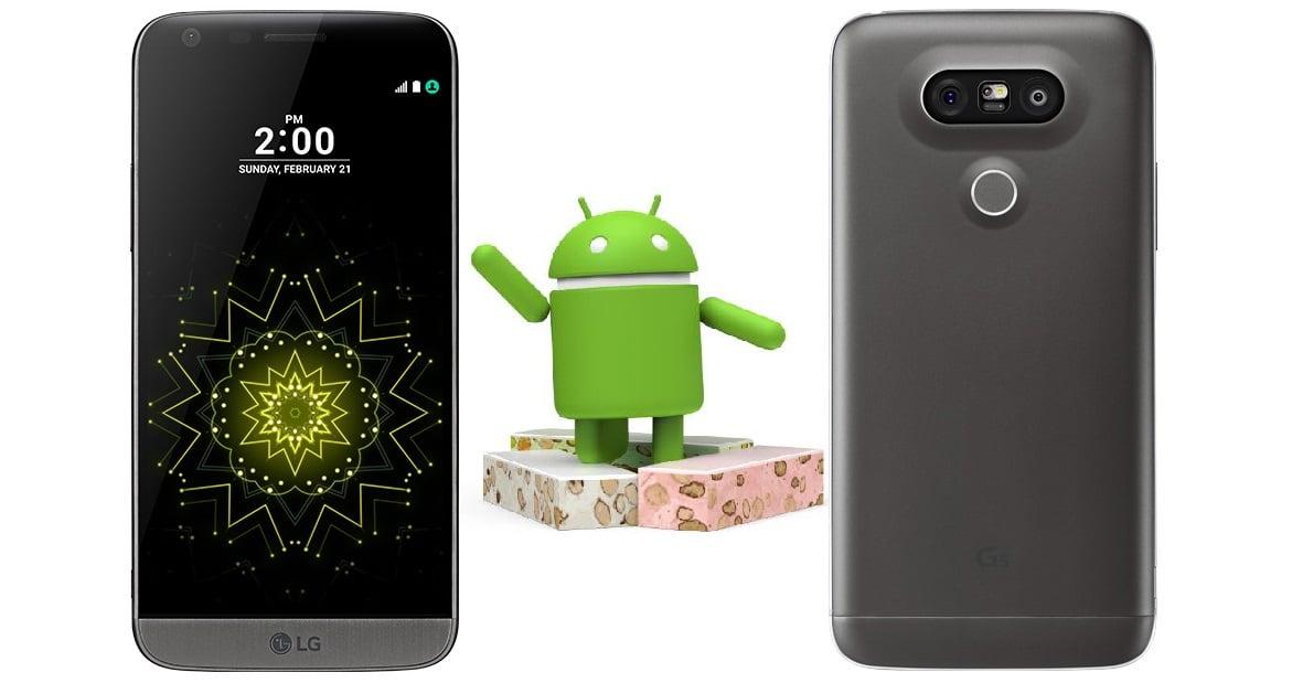 Tabletowo.pl LG G5 dostaje aktualizację do Androida 7.0 Nougat Aktualizacje Android LG Oprogramowanie Smartfony