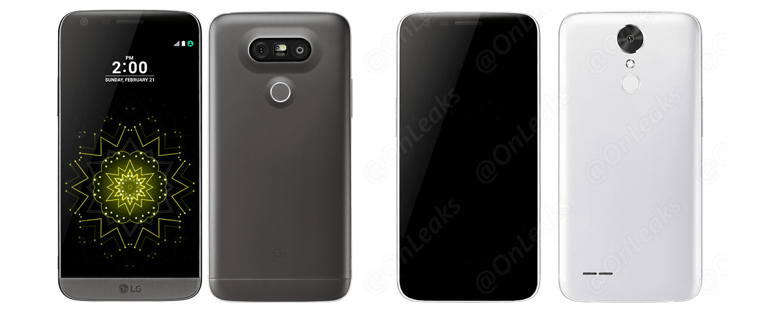 LG G5 vs LG LV5