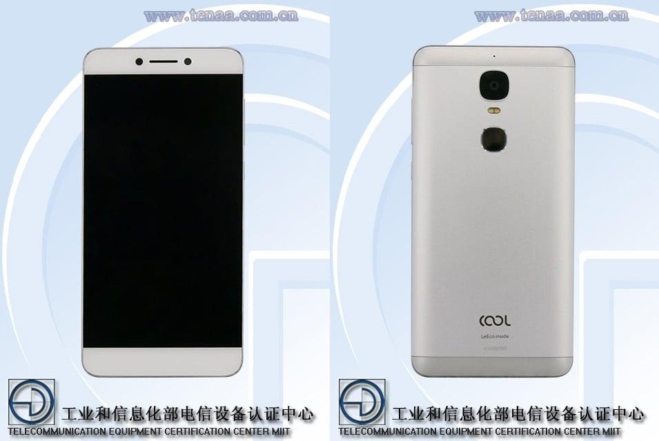 Nowy, wspólny smartfon LeEco i Coolpada w TENAA. Tym razem z pojedynczym aparatem głównym 29