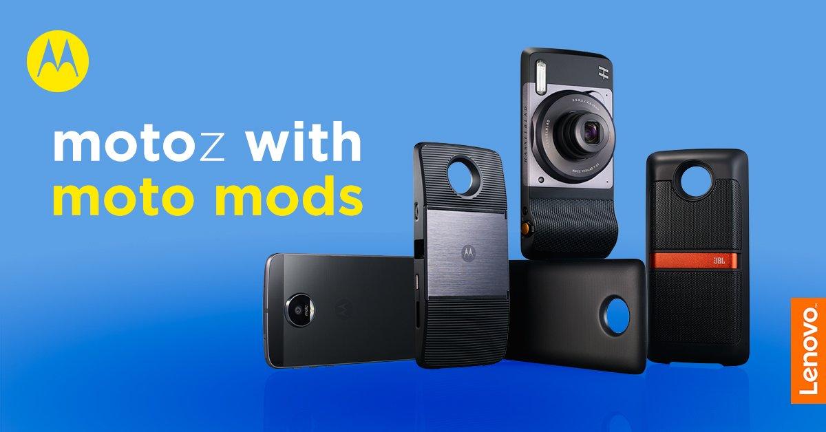 Lenovo oficjalnie rozpoczyna sprzedaż Moto Z, Moto Z Play i Moto Mods w naszym kraju