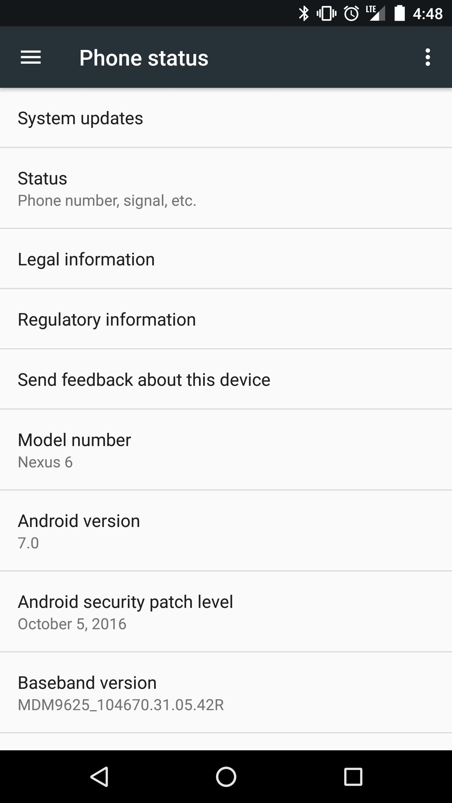 Tabletowo.pl Nexus 6 w końcu zaktualizowany do Androida 7.0 Nougat Aktualizacje Android Google Lenovo Motorola Smartfony