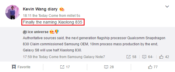qualcomm-snapdragon-830-qualcomm-snapdragon-835-weibo-kevin-wang