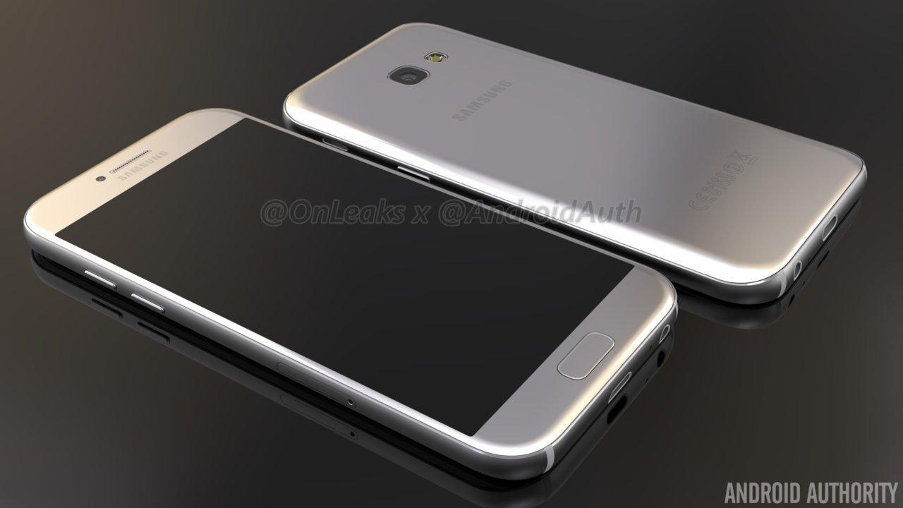 Wyciekły rendery Samsunga Galaxy A5 (2017) 19