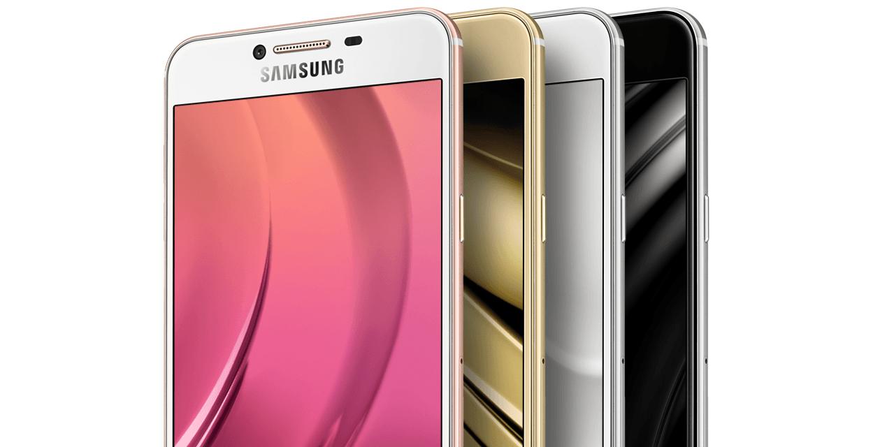 """Tabletowo.pl Samsung Galaxy C7 """"wychodzi"""" poza Chiny. Smartfon można kupić również w USA Android Samsung Smartfony"""