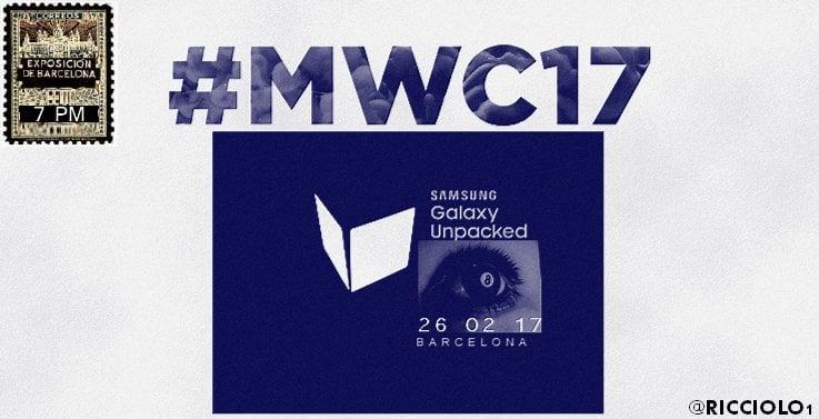 Tabletowo.pl Galaxy S8 zadebiutuje 26 lutego 2017 roku. Ekran ma pokrywać cały panel przedni smartfona Android Plotki / Przecieki Samsung Smartfony