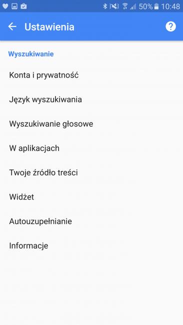 Tabletowo.pl Widżet Google Search połączony z Google Now Android Google Krótko Nowości