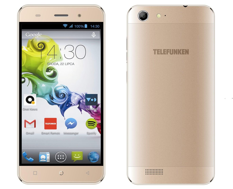 Tabletowo.pl TELEFUNKEN Diamond LTE Gold wkrótce dołączy do oferty Play Android Nowości Smartfony
