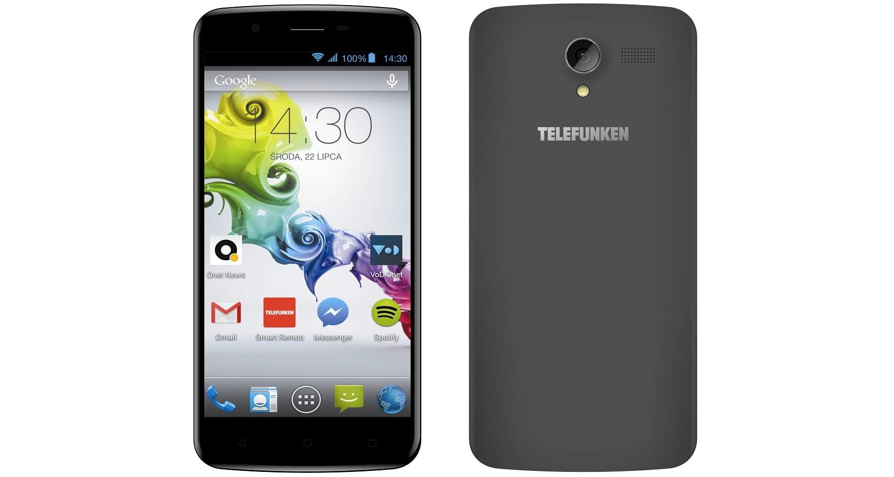 Tabletowo.pl TELEFUNKEN LTE Lima - smartfon dla użytkowników, wymagających przede wszystkim dużego ekranu Android Nowości Smartfony