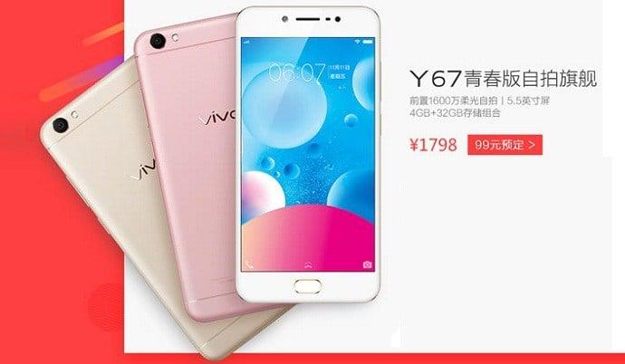 Vivo Y67 to kolejny smartfon na rynku z 16 Mpix aparatem do selfie 20