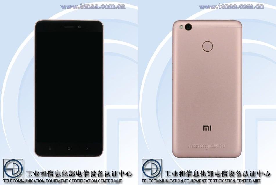 Xiaomi 2016111 i Xiaomi 2016112 w TENAA