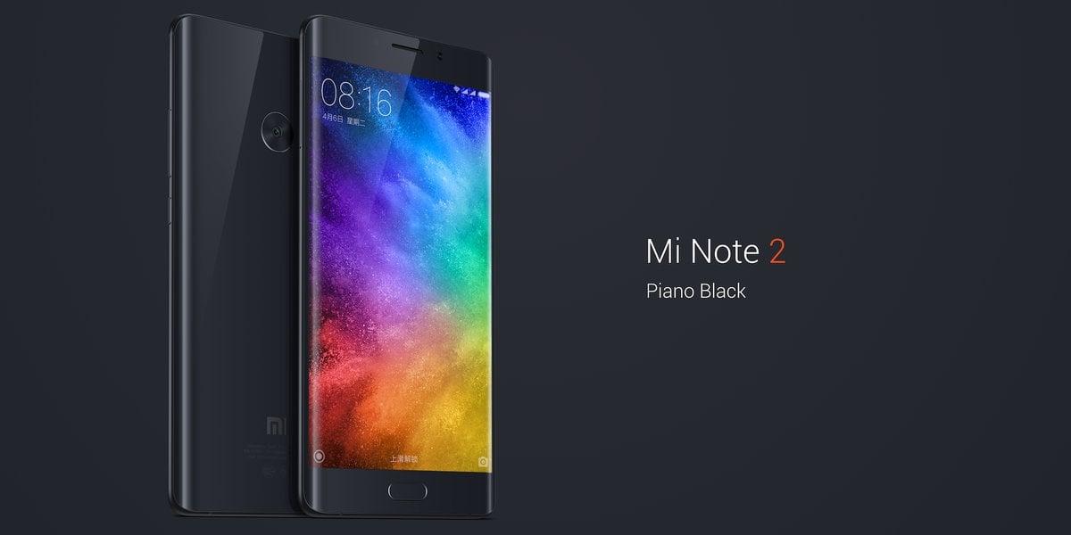 Xiaomi Mi Note 2 Piano Black