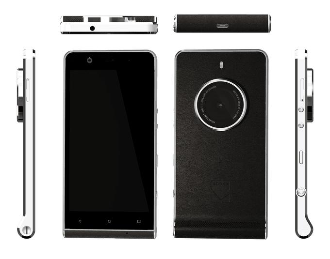 Z możliwości smartfon, a z wyglądu - aparat. Kodak Ektra do kupienia od 9 grudnia 16