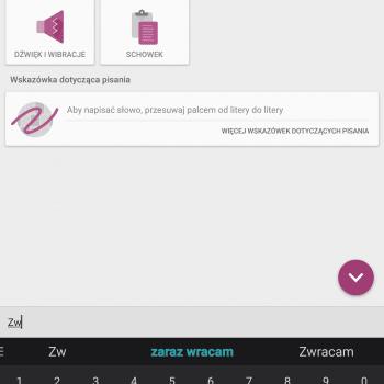 Tabletowo.pl Dwie nowe funkcje klawiatury Swiftkey - schowek i skróty Aktualizacje Aplikacje