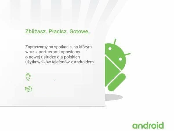 Android Pay konferencja