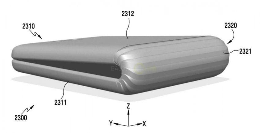 Tabletowo.pl Zanim Apple pokazało iPhone'a X, powstawał już Samsung Galaxy X - składany smartfon Plotki / Przecieki Samsung Smartfony