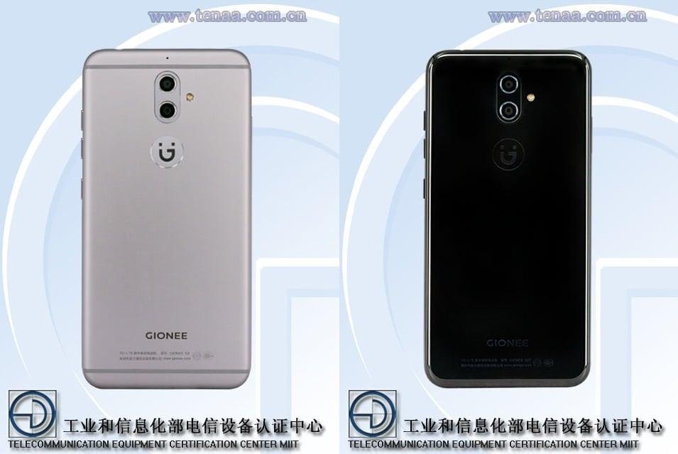 Gionee S9 i Gionee S9T w TENAA