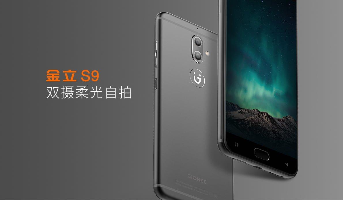 Zadebiutował Gionee S9 - pierwszy smartfon tej marki z podwójnym aparatem 23