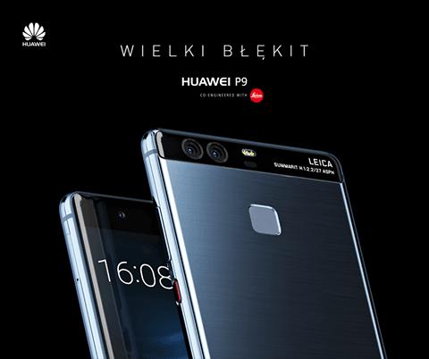 Tabletowo.pl Niebieski Huawei P9 trafił do sprzedaży w Polsce Android Huawei Nowości Smartfony