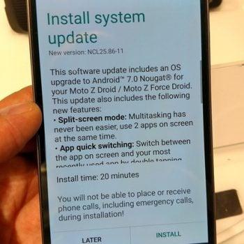 Tabletowo.pl Lenovo Moto Z i Moto Z Force w Stanach Zjednoczonych otrzymują aktualizację do Androida 7.0 Nougat Aktualizacje Android Lenovo Motorola Smartfony