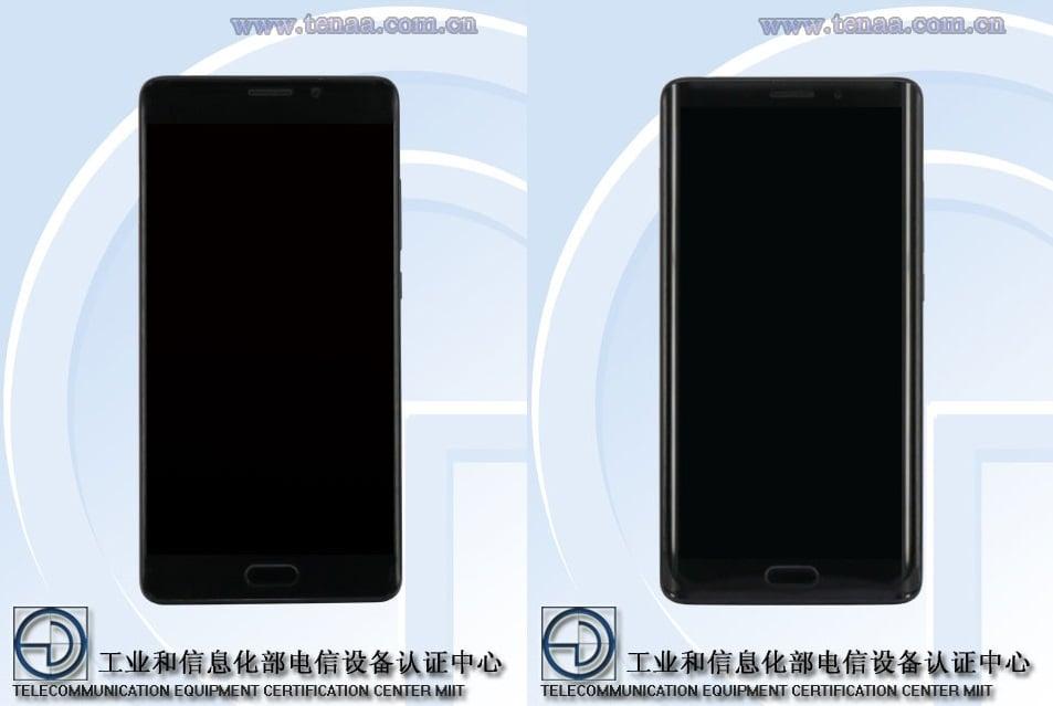 """TENAA zdradza, że Xiaomi Mi Note 2 będzie dostępny również w wersji """"flat"""". Premiera 11 listopada 25"""