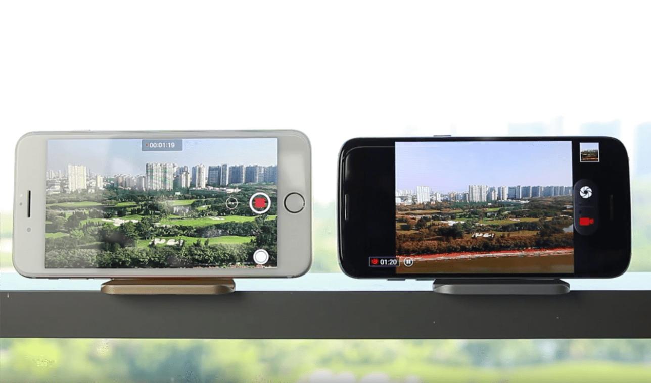 Bluboo Egde kontra iPhone 7 Plus - pięciogodzinny test baterii 28