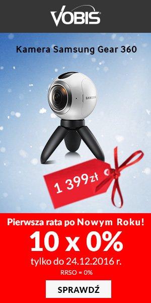Kamera Samsung Gear 360
