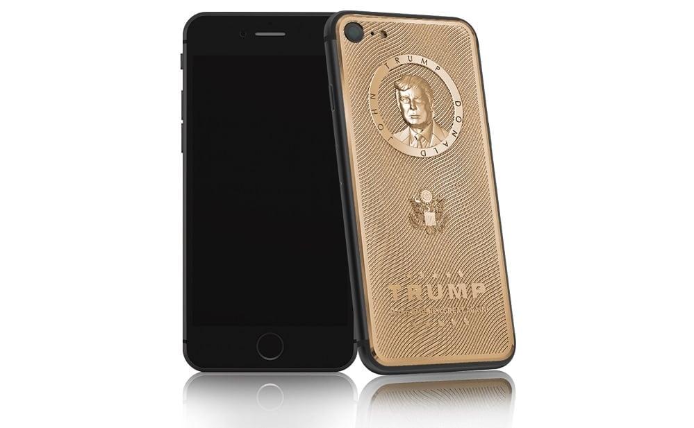 iPhone z popiersiem Donalda Trumpa w sprzedaży 19