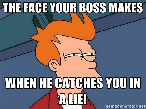 lie-to-boss