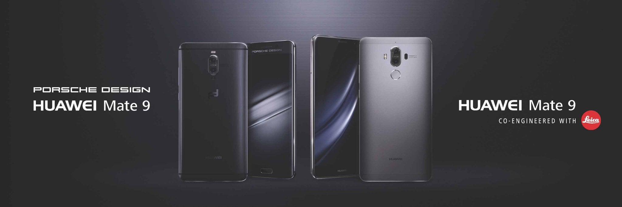 Huawei Mate 9 i Huawei Mate 9 Porshe Design
