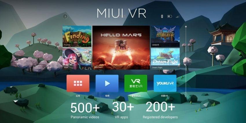 Platforma MIUI VR
