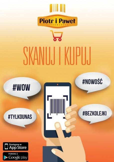 Tabletowo.pl W supermarketach Piotr i Paweł zeskanujesz produkty smartfonem i ominiesz tradycyjne kasy Aplikacje Ciekawostki Nowości