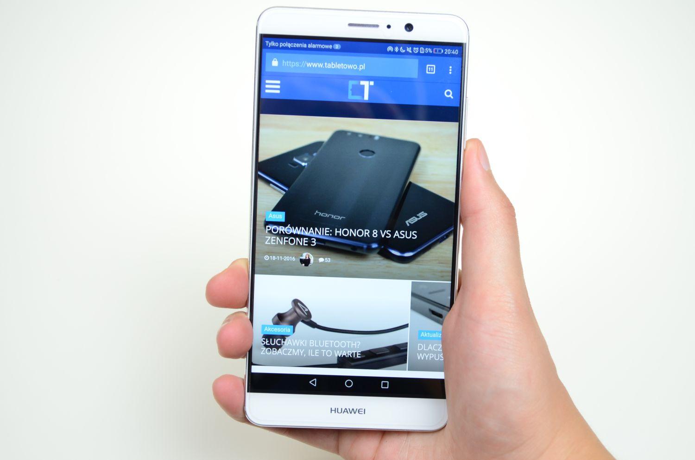 Aktualizacja dla Huawei Mate 9 - GPU Turbo powinno wpłynąć na wydajność w grach 24