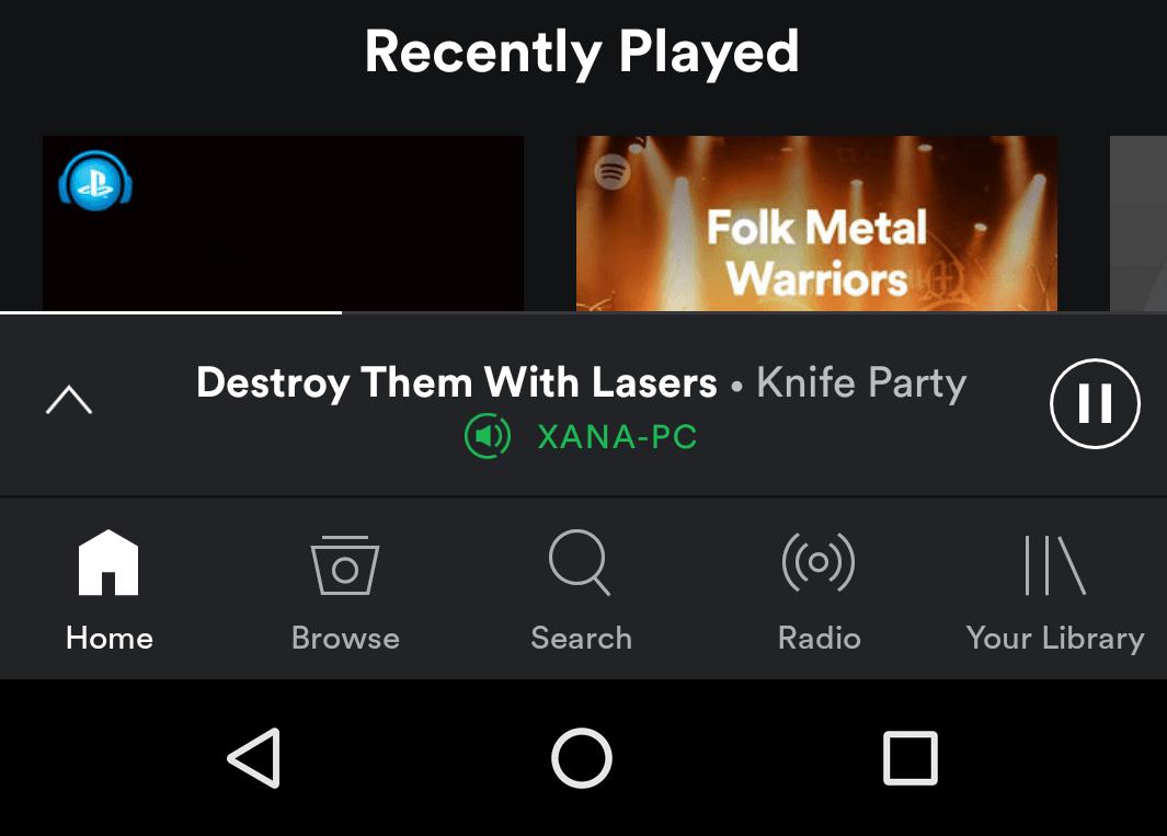 Nowy Spotify będzie na Androidzie wyglądał tak - z dolnym paskiem nawigacyjnym 17