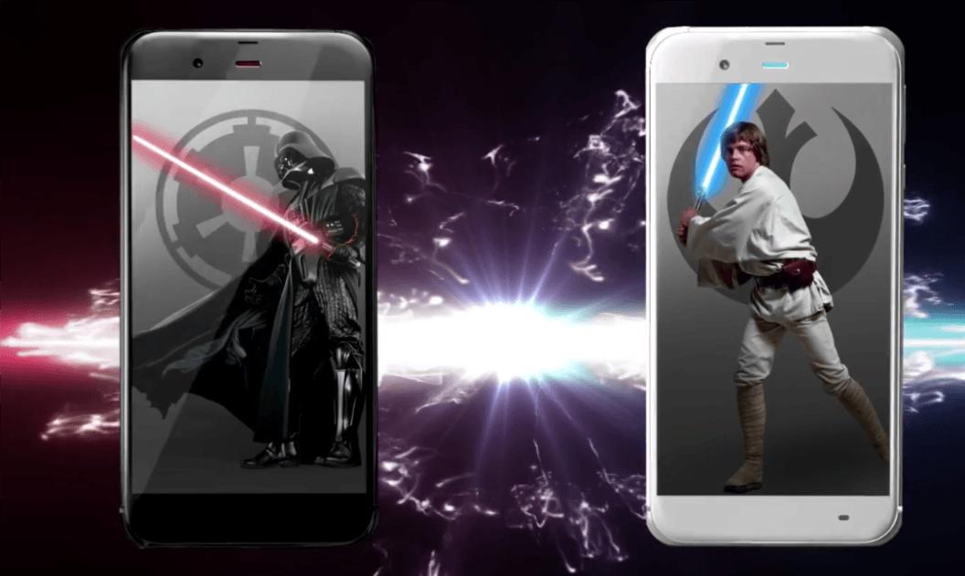 Tabletowo.pl Japończycy smartfony ze Star Wars będą kupić mogli, zazdrośni jesteśmy Ciekawostki Sharp Smartfony