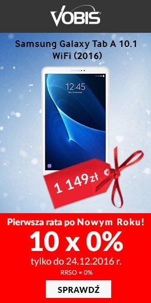 Tablet Samsung Galaxy Tab A 10.1 WiFi (2016) biały