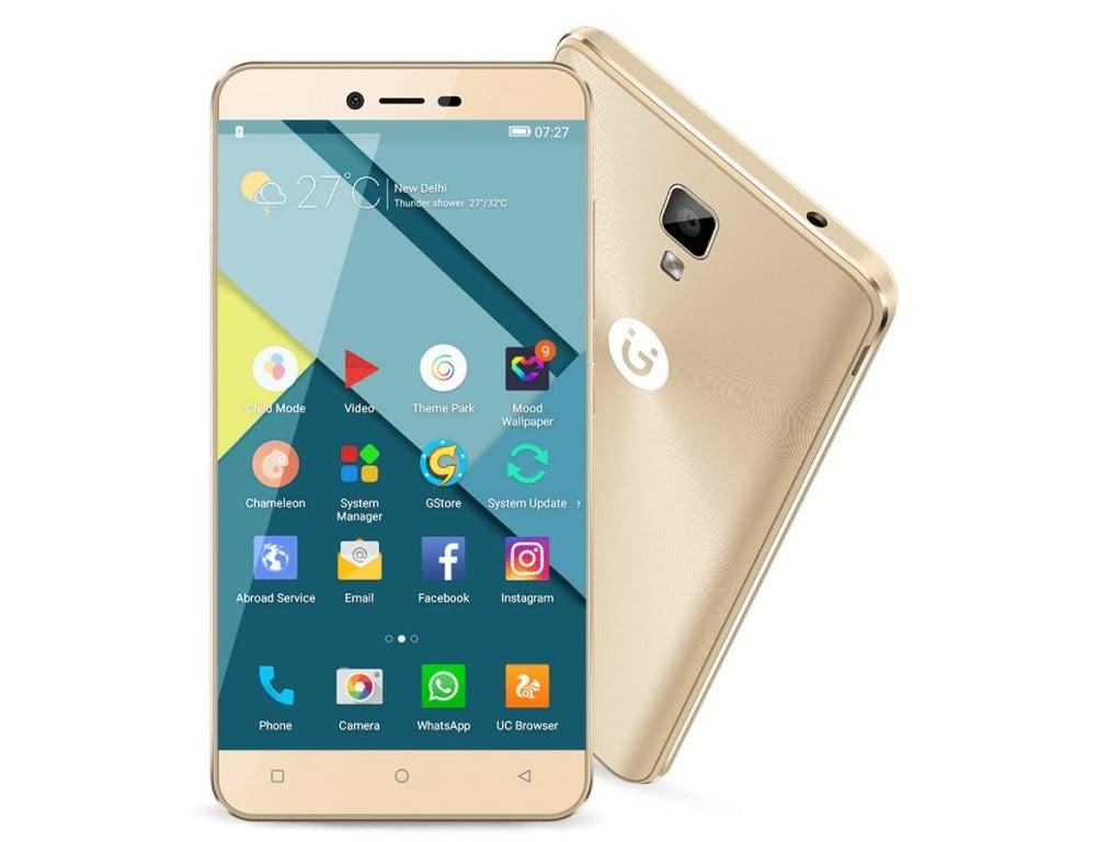 Tabletowo.pl Gionee P7 zadebiutował w Indiach Android Chińskie Nowości Smartfony