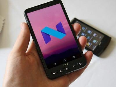 Nougat to nie pierwszy i z pewnością nie ostatni Android, który zagościł na HTC HD2