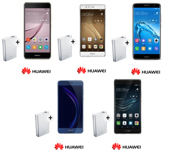 Promocja: Przy zakupie smartfona Huawei, powerbank 13000 mAh gratis 23