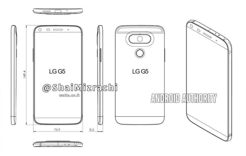 Pierwsza grafika LG G6 - żeby zyskać przewagę nad Samsungiem Galaxy S8, smartfon może mieć premierę w lutym 25