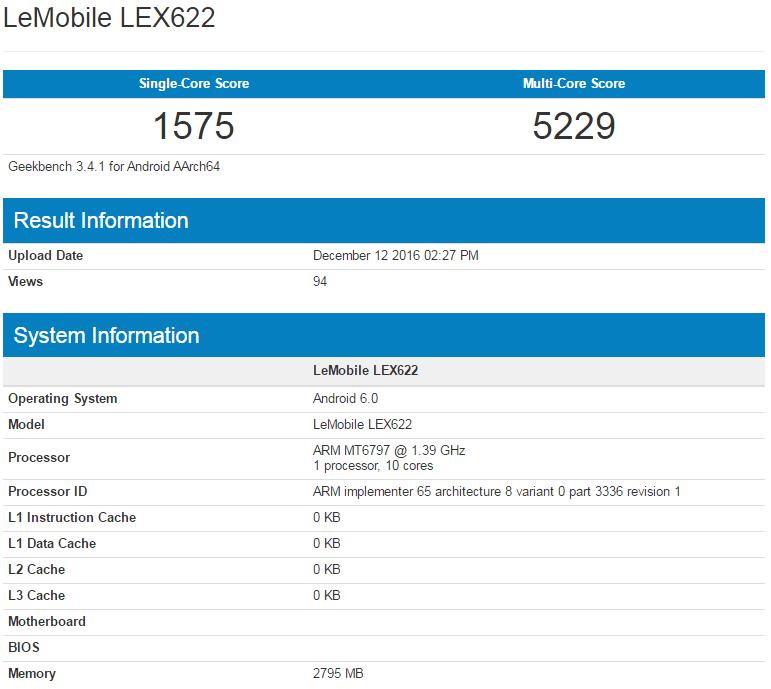 LeEco szykuje jeszcze jeden smartfon z dziesięciordzeniowym MediaTekiem Helio X20 23