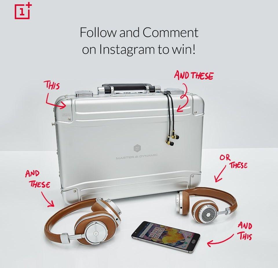 Instagramowy konkurs OnePlus - do wygrania OnePlus 3T i dwie pary słuchawek 23