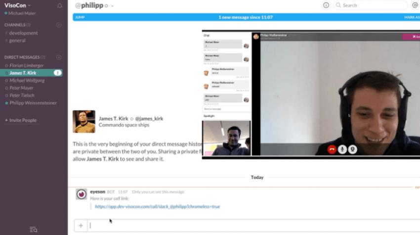 Tabletowo.pl Wspólne knucie będzie się odbywać jeszcze łatwiej - Slack dostaje funkcję wideokonferencji Aktualizacje Android Aplikacje iOS Oprogramowanie Windows
