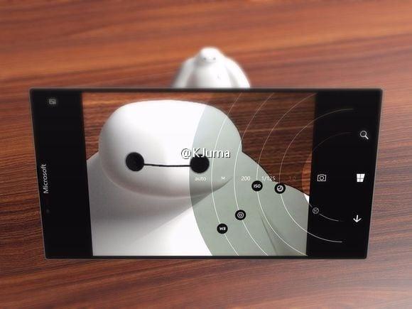 Wizualizacja niespełnionego snu osób czekających na Surface Phone 17
