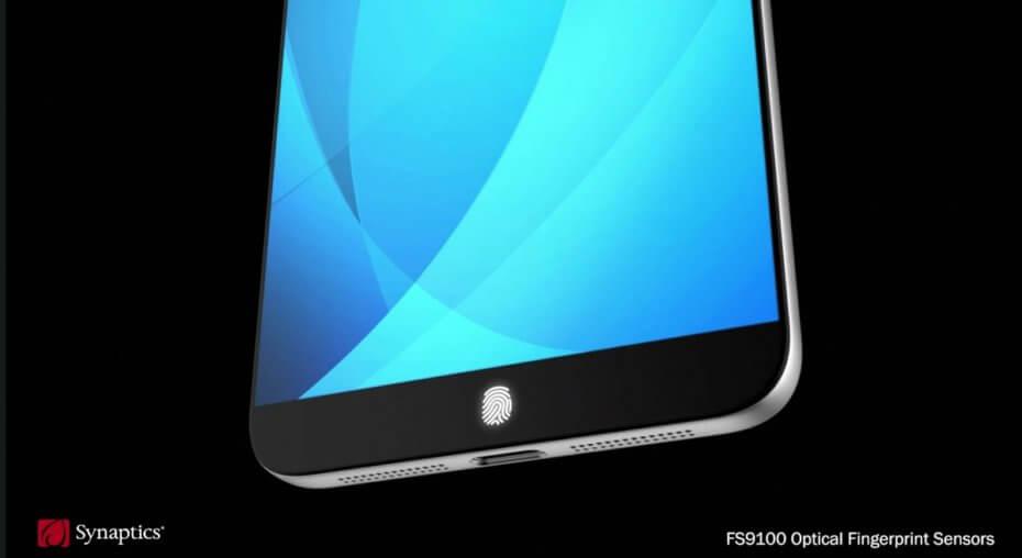 Tabletowo.pl Nowy czytnik linii papilarnych od Synaptics można ukryć pod taflą szkła o grubości nawet 1 mm Android Nowości Samsung Smartfony