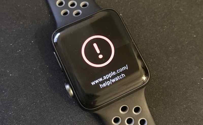 Tabletowo.pl Apple wycofuje aktualizację watchOS, która ucegla zegarki Apple Watch Aktualizacje Apple Oprogramowanie Wearable